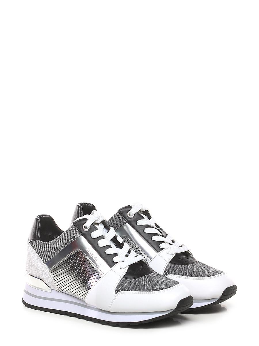 Sneaker White/silver/black Michael Kors