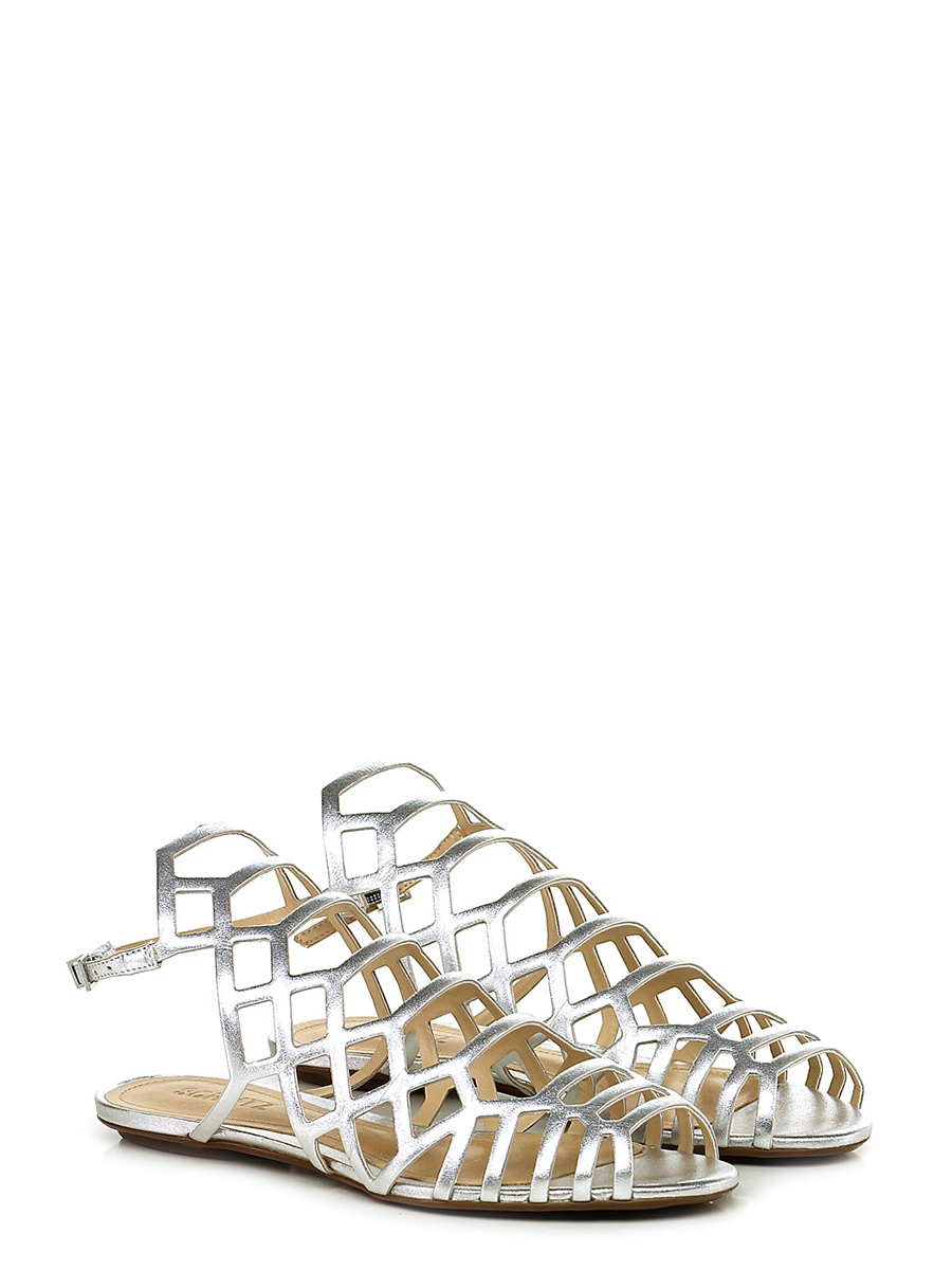 Silver Basso Shop Le Schutz Sandalo Follie OuPiwTlXZk