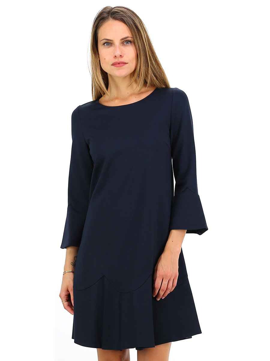 abito blue black twin set le follie shop. Black Bedroom Furniture Sets. Home Design Ideas
