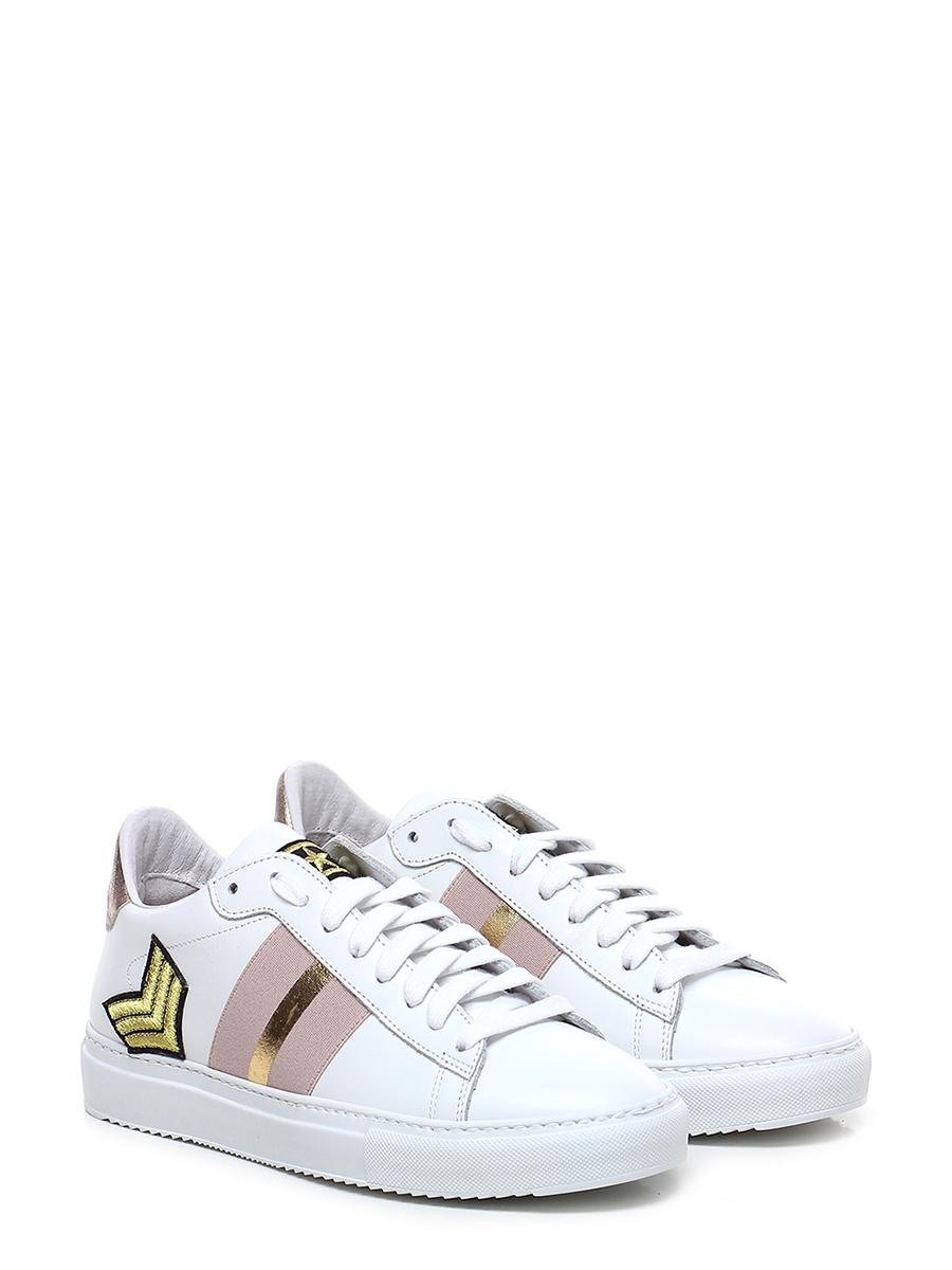 de794e7633 Sneaker Bianco/cipria Stokton - Le Follie Shop