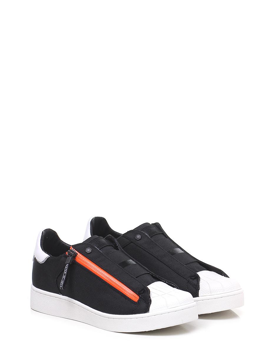 Sneaker Nero bianco arancio Moa Master Of Arts - Le Follie Shop a87227f14c5
