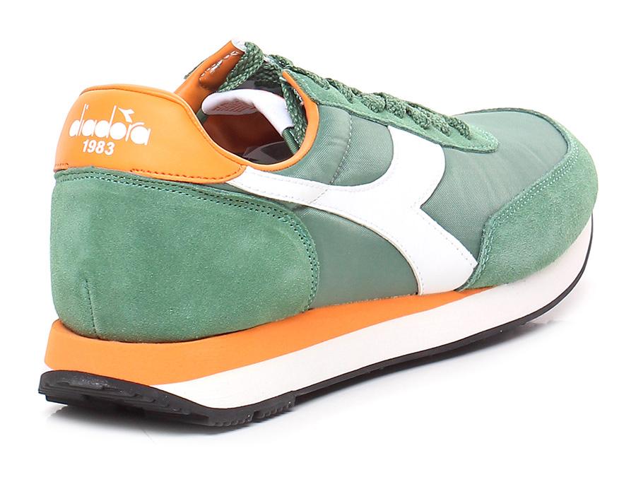 Sneaker Green/orange Diadora Heritage