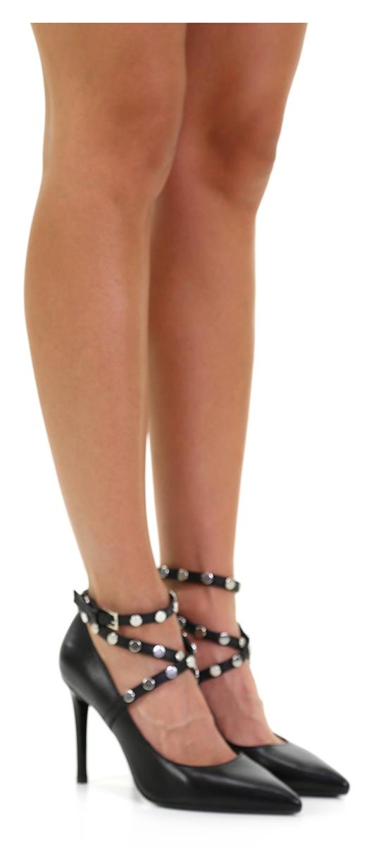 Scarpa con tacco Nero Miss Miss Nero Martina 6d3a50
