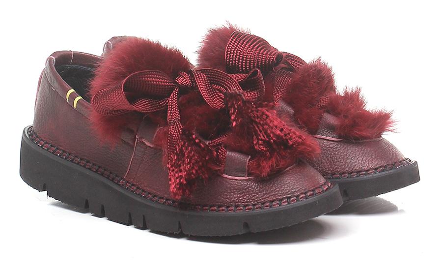 Scarpa bassa Bordeaux Emile Verschleißfeste billige Schuhe