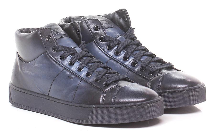 Sneaker Notte Santoni Verschleißfeste billige Schuhe