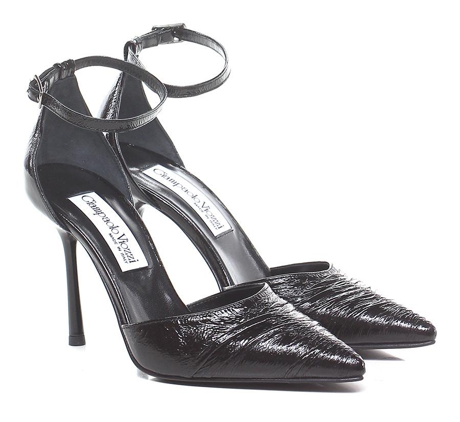 Scarpa con tacco Nero Giampaolo Viozzi