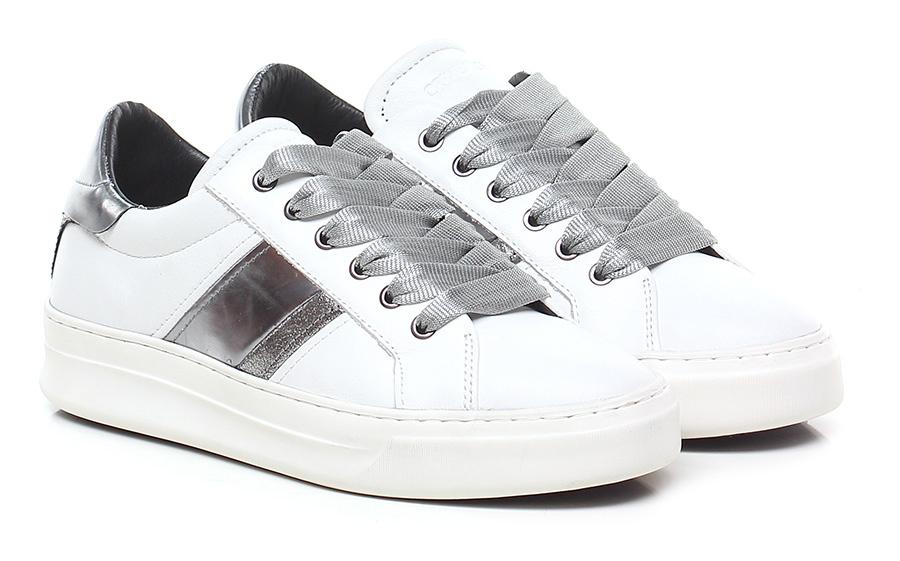 Sneaker White/silver Crime Mode billige Schuhe