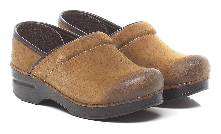 Zeppa Lightbrown Dansko Mode billige Schuhe