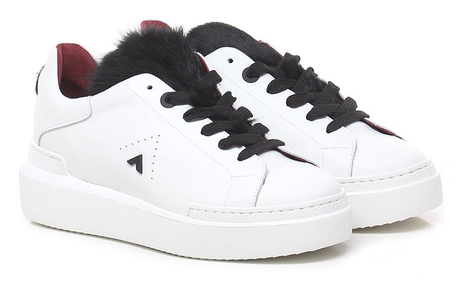 Sneaker White/black Ed Parrish Verschleißfeste billige Schuhe