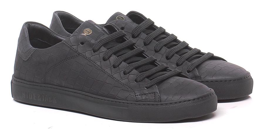 Sneaker Black Hide & Jack Hohe Qualität