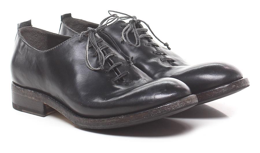 Stringata Nero Shoto Verschleißfeste billige Schuhe