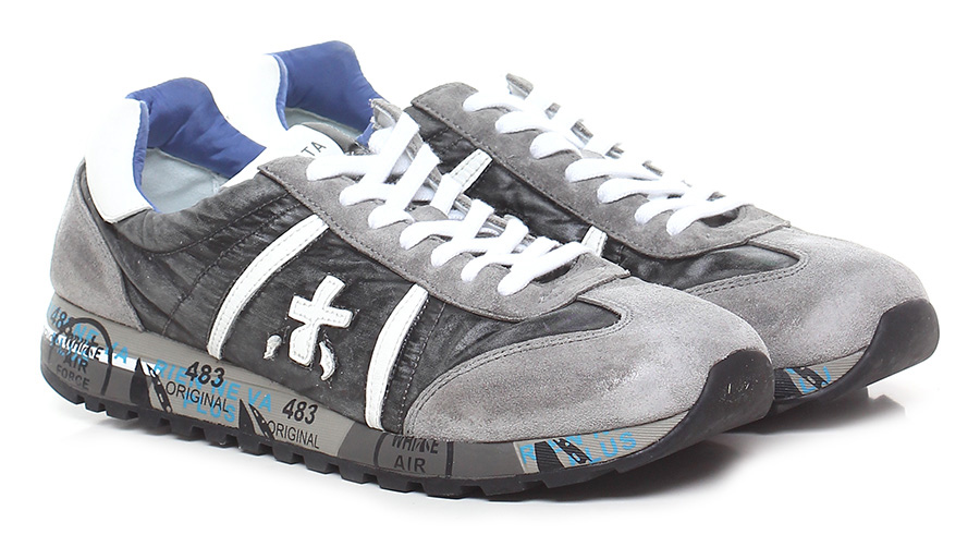 Sneaker 1794 multigrey/white Premiata Verschleißfeste billige Schuhe