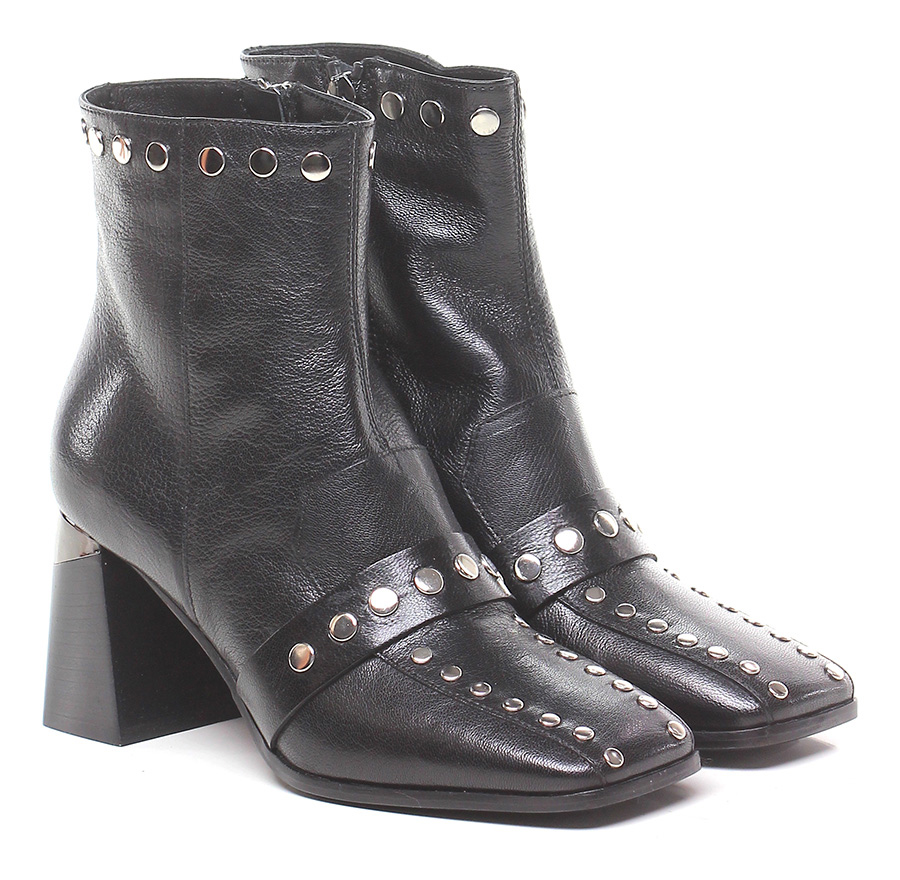 Tronchetto Nero Laura Bellariva Mode billige Schuhe