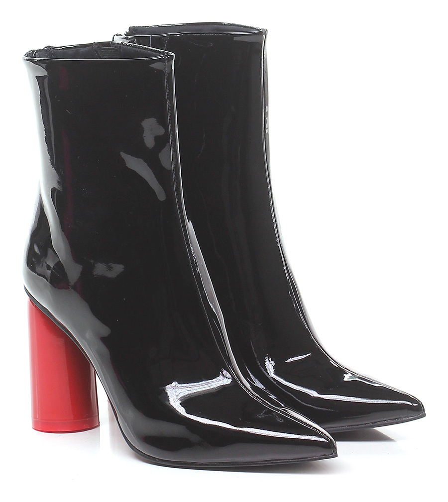 Tronchetto Black/red Jeffrey Campbell