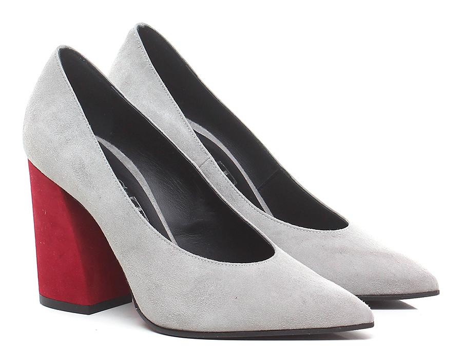 Decolletè billige Perla/rosso Festa Milano Mode billige Decolletè Schuhe 3e7c80
