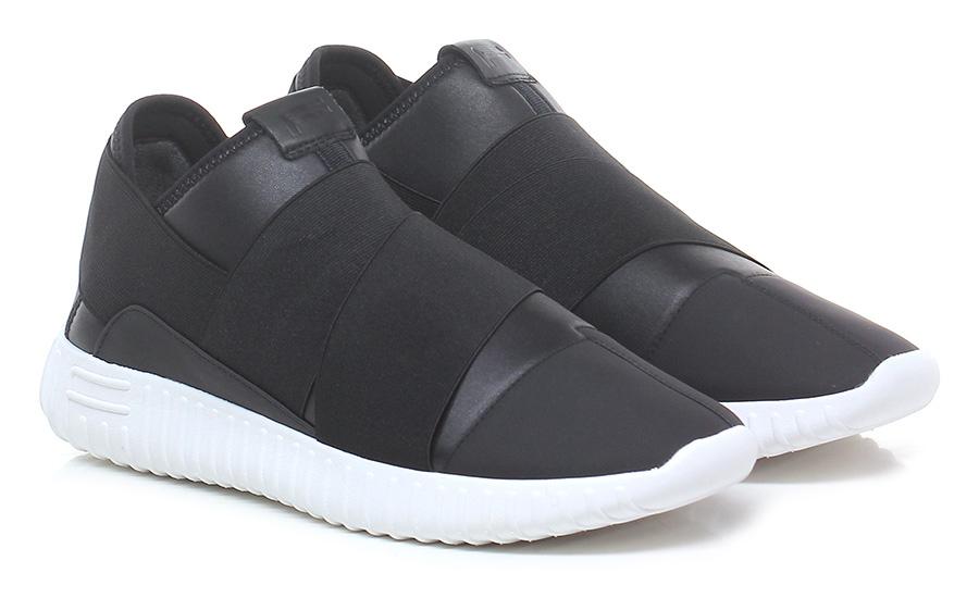Sneaker Black/white Fessura Verschleißfeste billige Schuhe