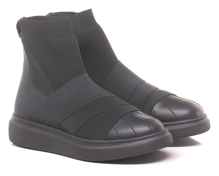 Sneaker Black Fessura