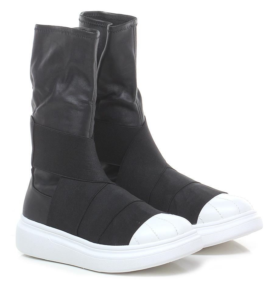 Sneaker Black/white Fessura Scarpe economiche e buone
