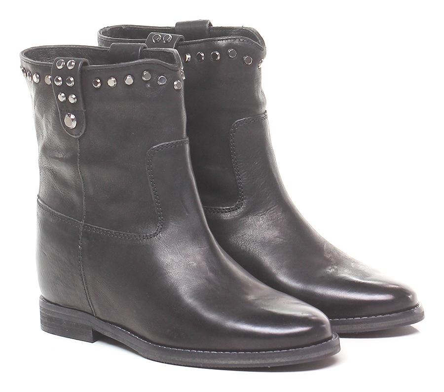 Tronchetto Nero Julie Dee Mode billige Schuhe