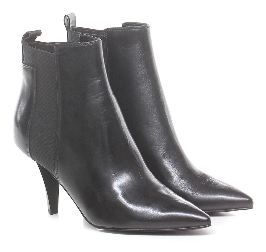 Tronchetto Black Kendall Kylie Mode billige Schuhe