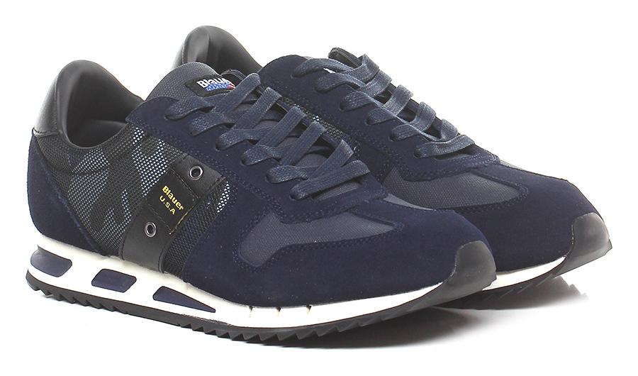 Sneaker Navy/camouflage Blauer Verschleißfeste billige Schuhe