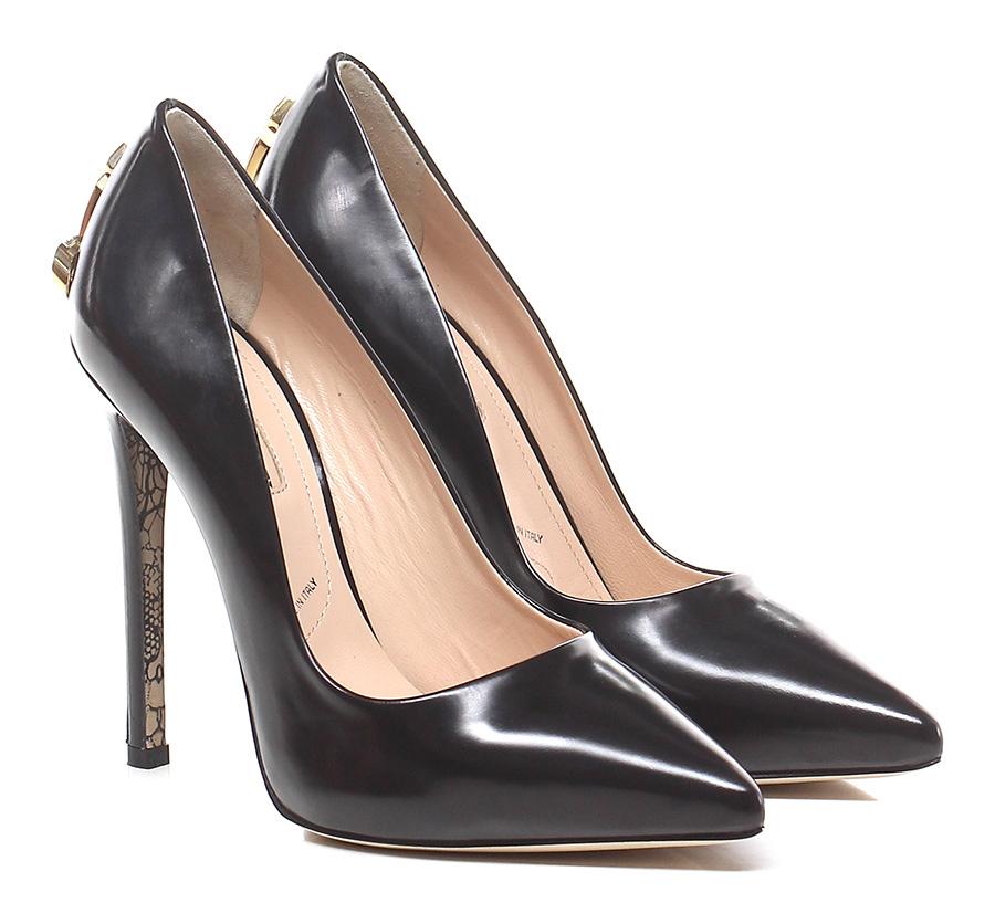 Decolletè Black Cesare Paciotti Verschleißfeste billige Schuhe