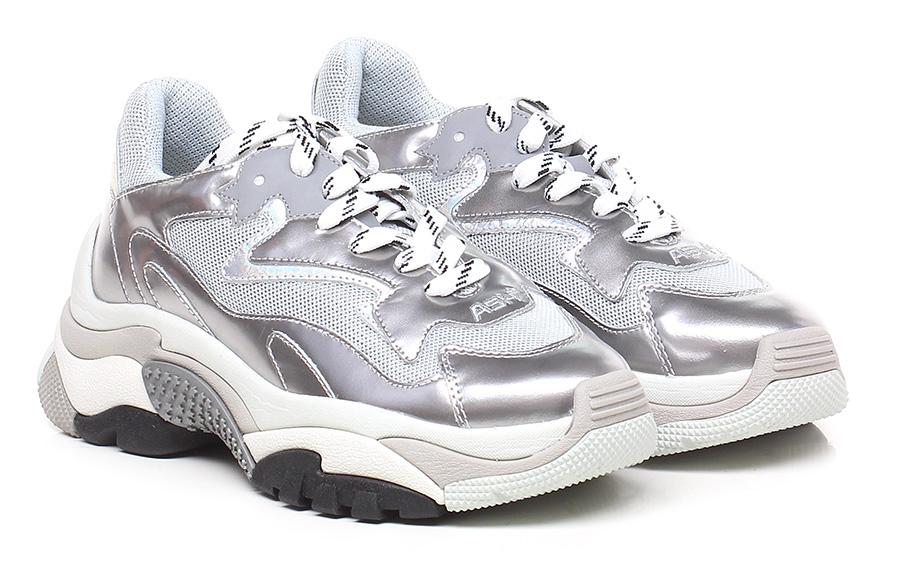 Sneaker Silver ASH Verschleißfeste billige Schuhe
