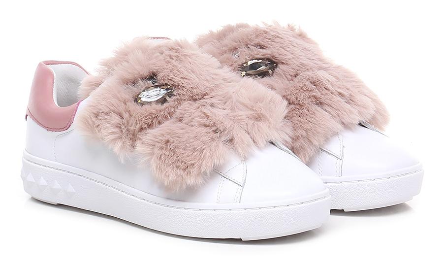 Sneaker White/pink ASH Verschleißfeste billige Schuhe