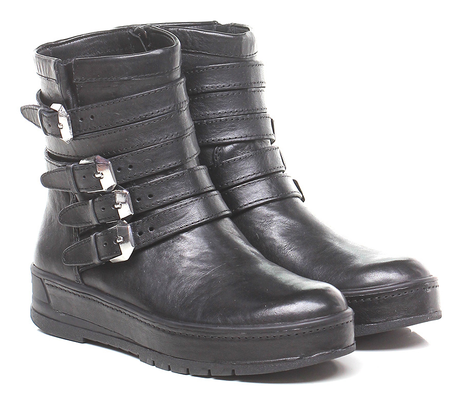 Polacco Black Crime Verschleißfeste billige Schuhe