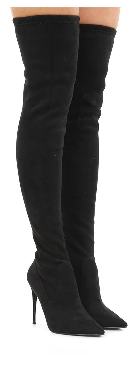 Stivale Black Steve Madden Mode billige Schuhe