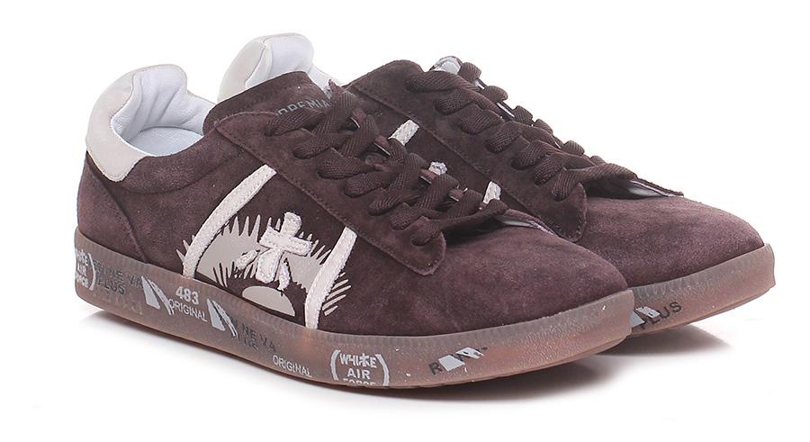 Sneaker 3404 bordeaux/ivory Premiata Scarpe economiche e buone