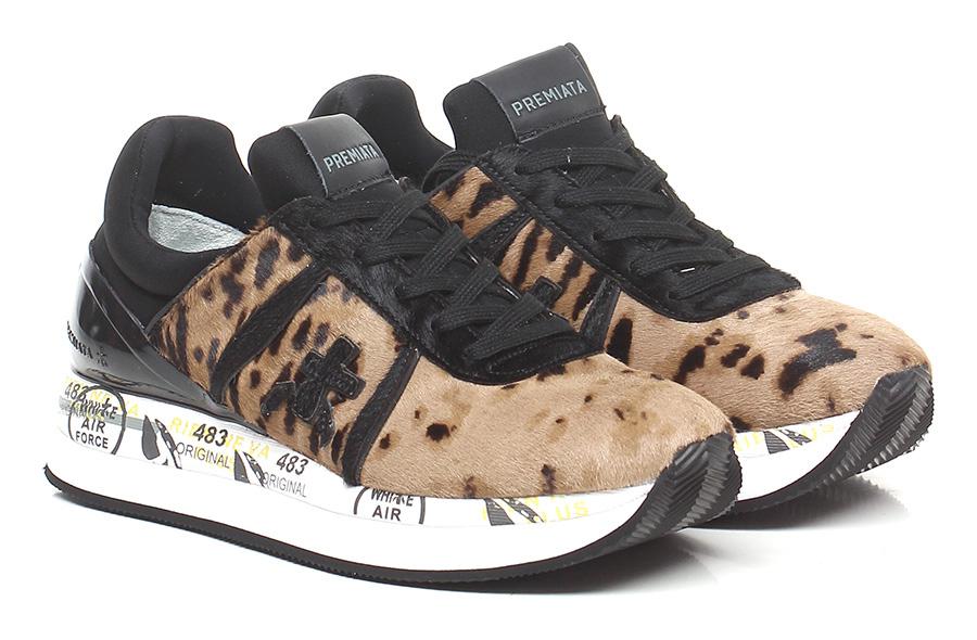 Sneaker 3457 camel/black Premiata Verschleißfeste billige Schuhe