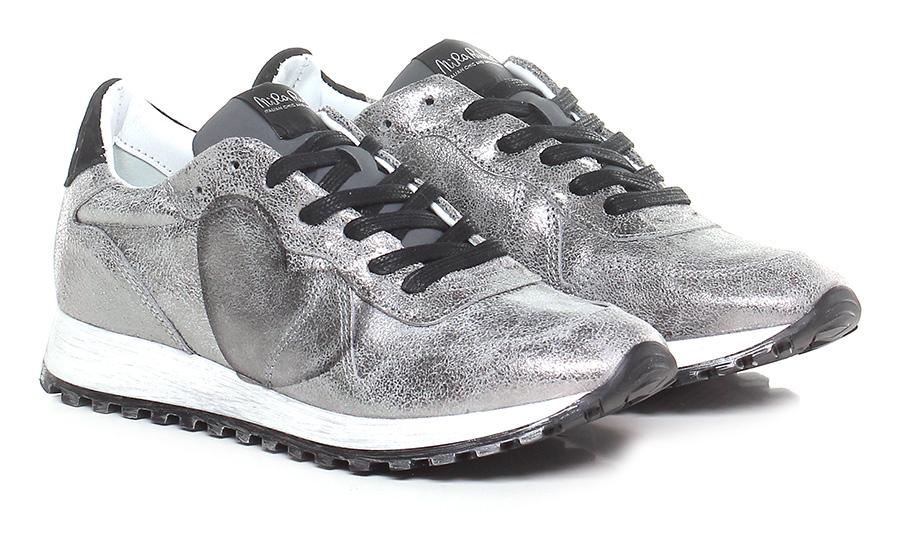 Sneaker Argento/nero Nira Rubens Verschleißfeste billige Schuhe