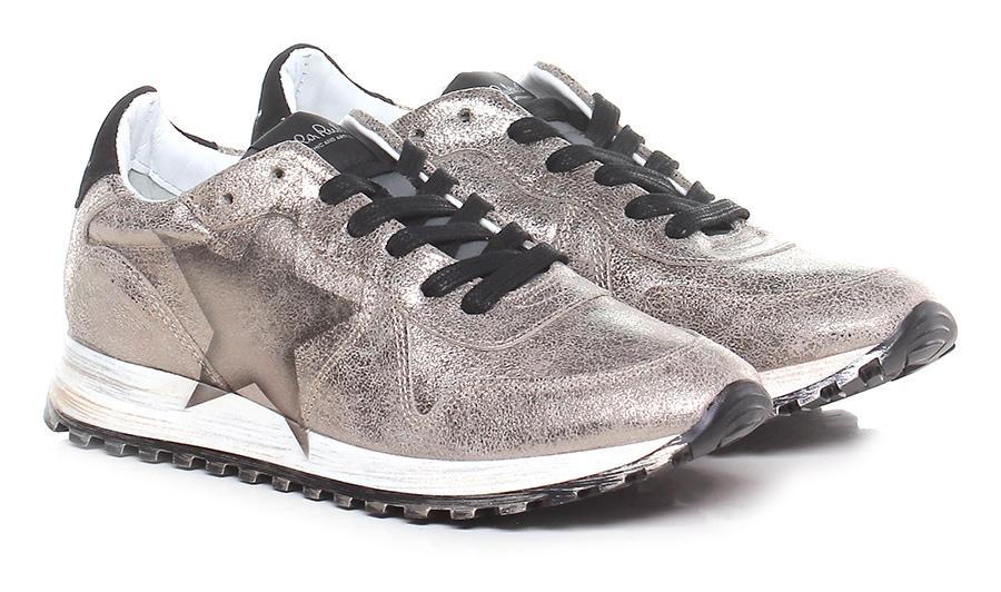 Sneaker Bronzo/nero Nira Rubens Verschleißfeste billige Schuhe