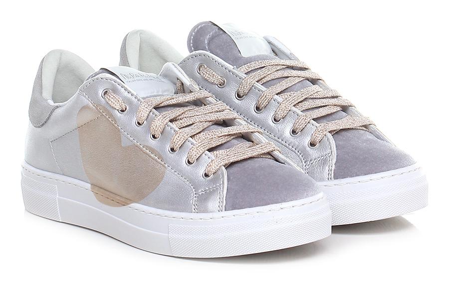 Sneaker Argento/oro Nira Rubens Verschleißfeste billige Schuhe