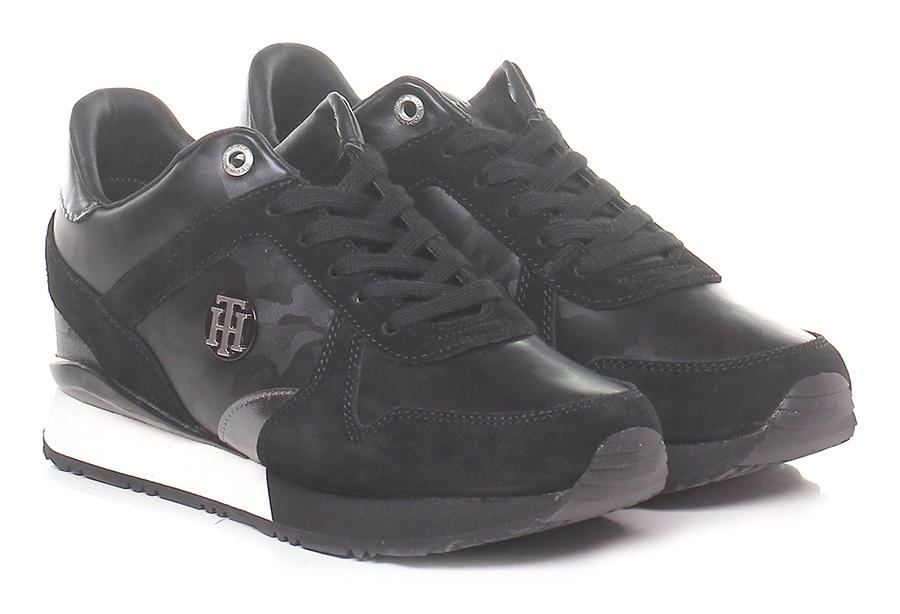 Sneaker Black/anthracite Tommy Hilfiger Verschleißfeste billige Schuhe Schuhe Schuhe b745af