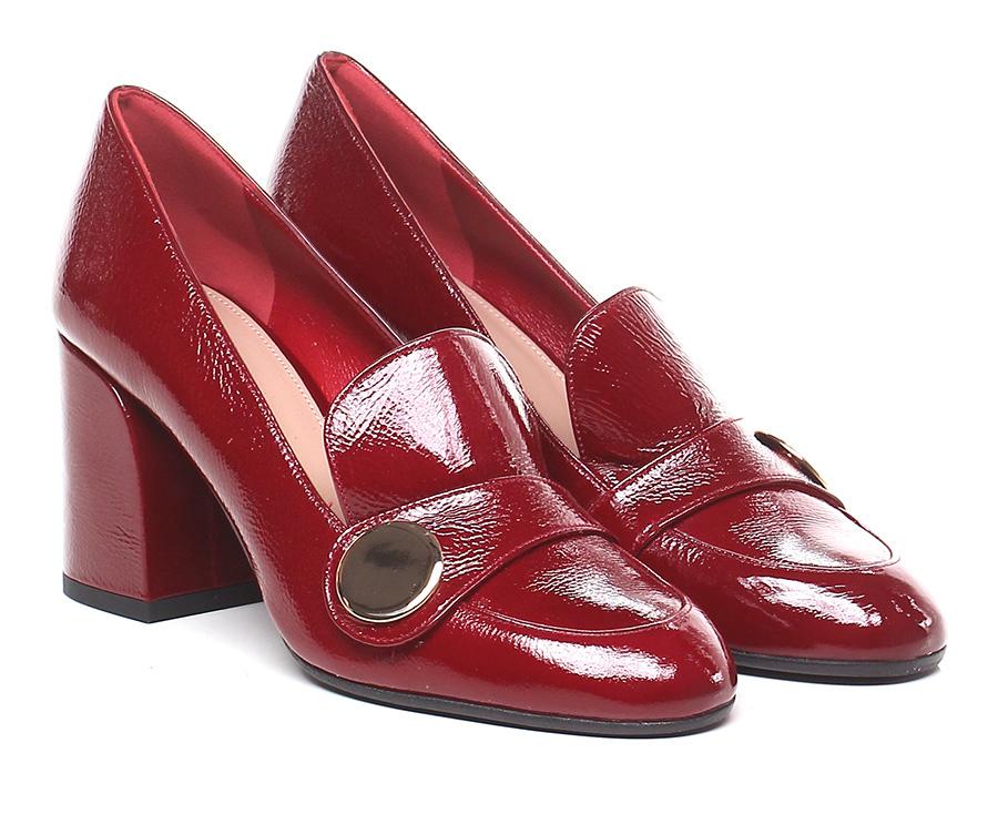 Scarpa con tacco  Rosso Miss Martina