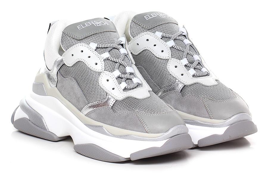 Sneaker Grigio Elena Iachi Verschleißfeste billige Schuhe