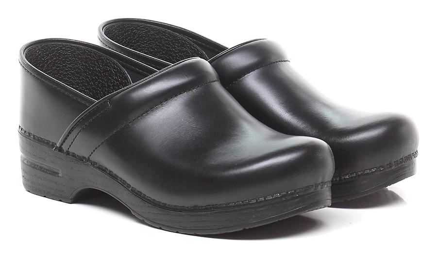 Senza stringhe Black Dansko Verschleißfeste billige Schuhe