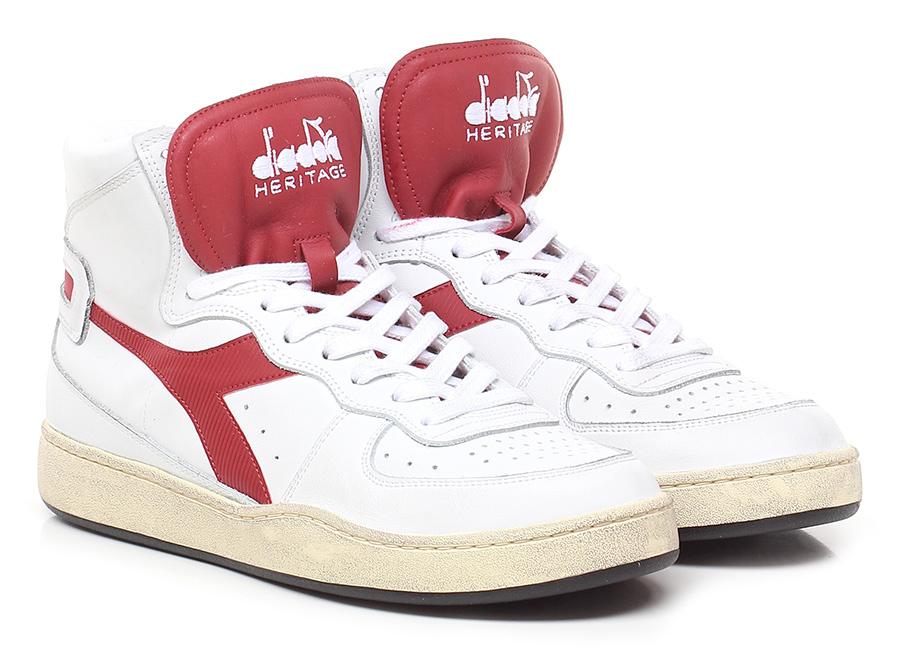 Sneaker White/red Diadora Heritage Mode billige Schuhe