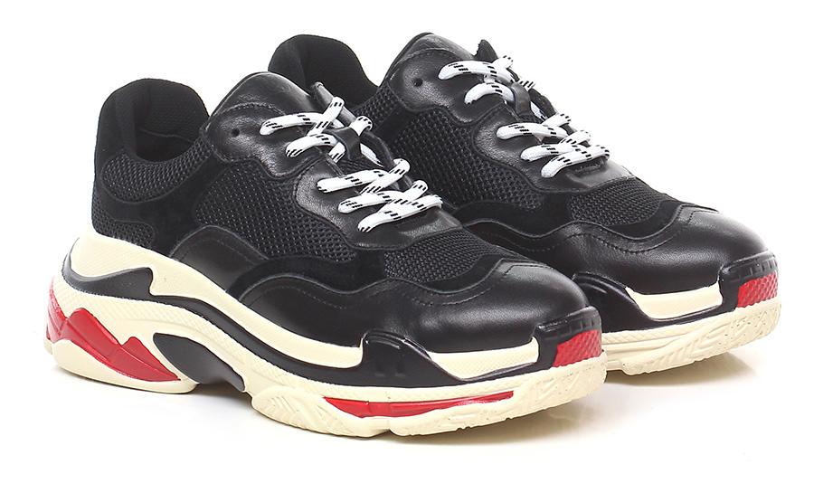 Sneaker Nero La Carrie Verschleißfeste billige Schuhe