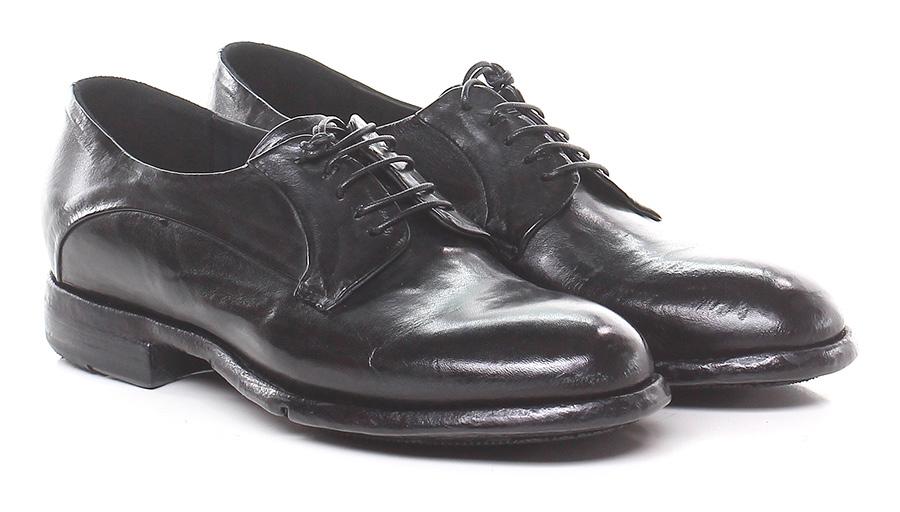 Scarpa bassa Nero Lemargo Verschleißfeste billige Schuhe