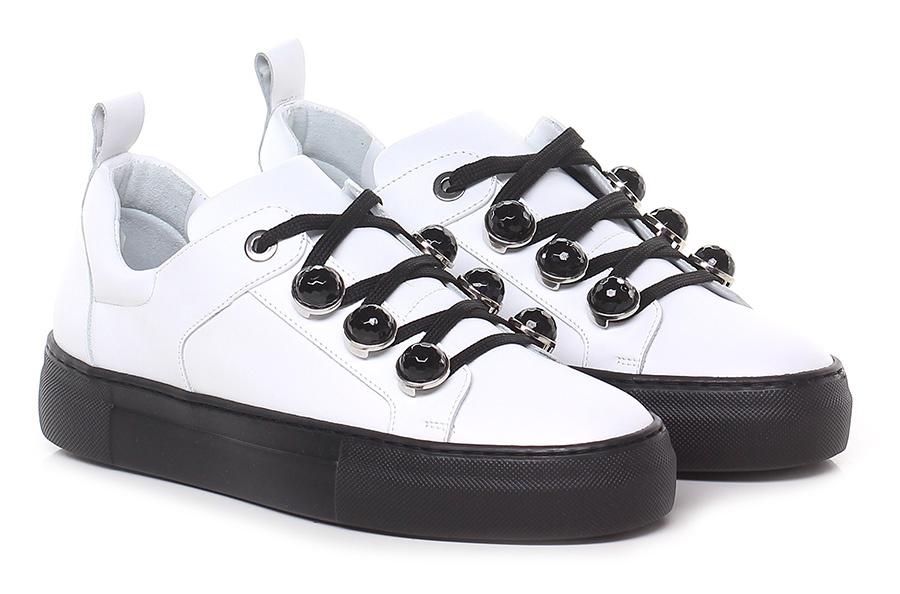 Sneaker Bianco Guglielmo Rotta Verschleißfeste billige Schuhe