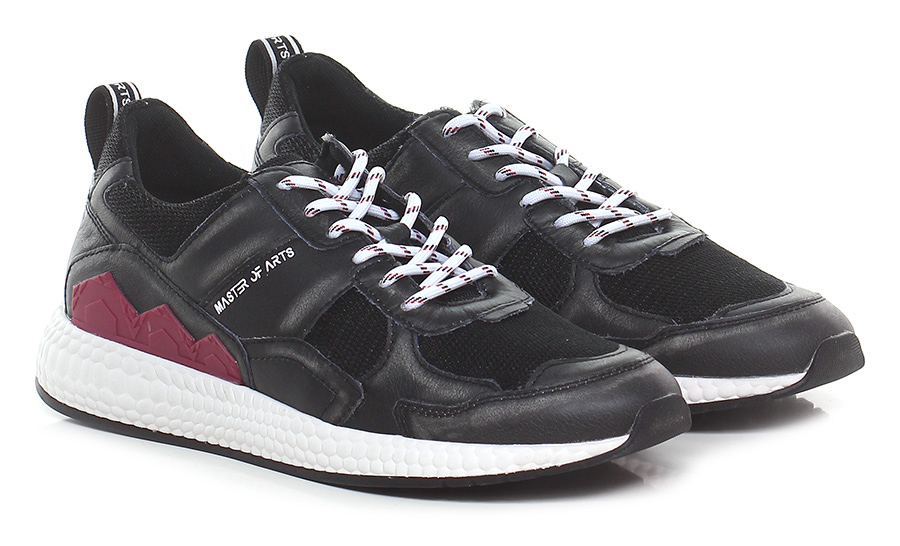 Sneaker Nero/asfalto Moa Master Of Arts