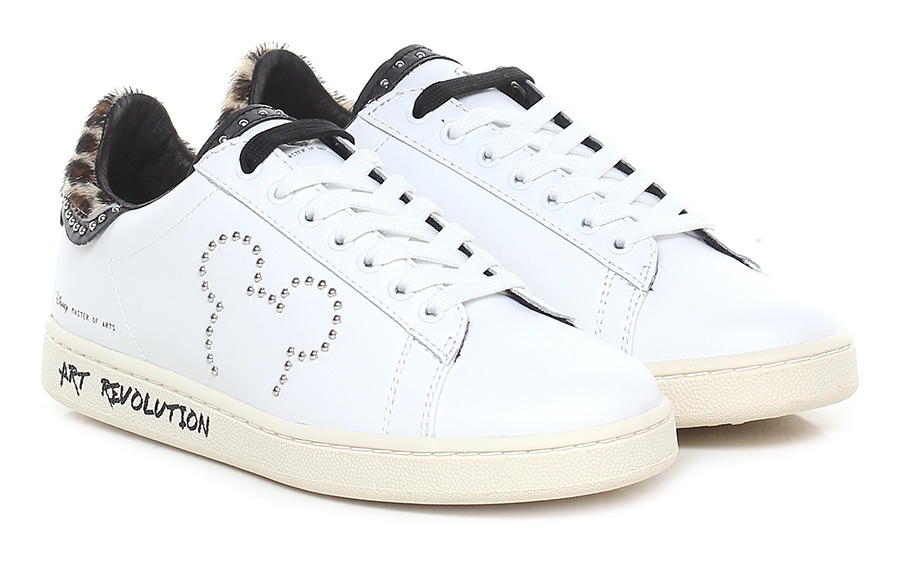 Sneaker Bianco/leopardo Moa Master Of Arts Disney