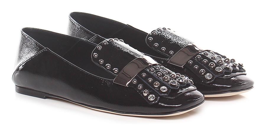 Scarpa bassa Nero Ninalilou Verschleißfeste billige Schuhe