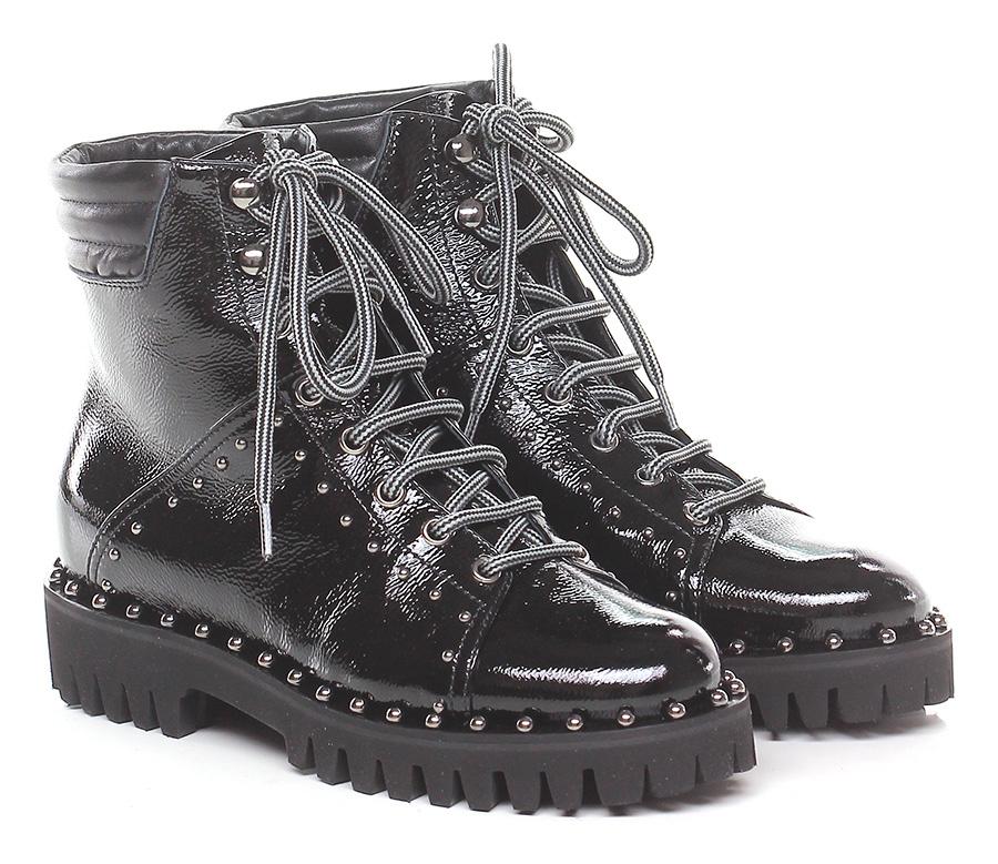 Polacco Nero Ninalilou Verschleißfeste billige Schuhe