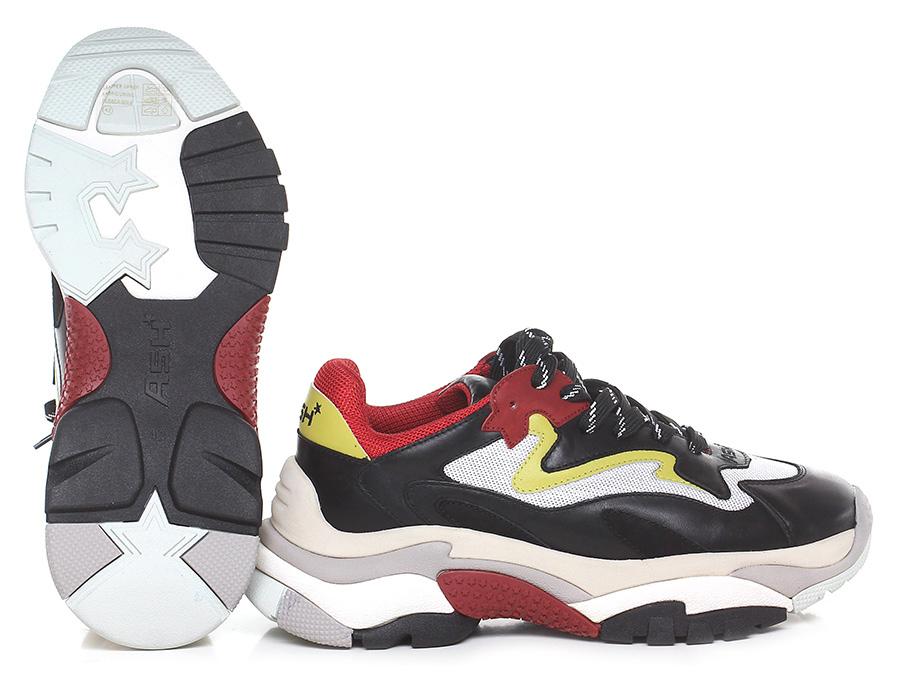 Sneaker Black/red/white ASH Verschleißfeste billige Schuhe