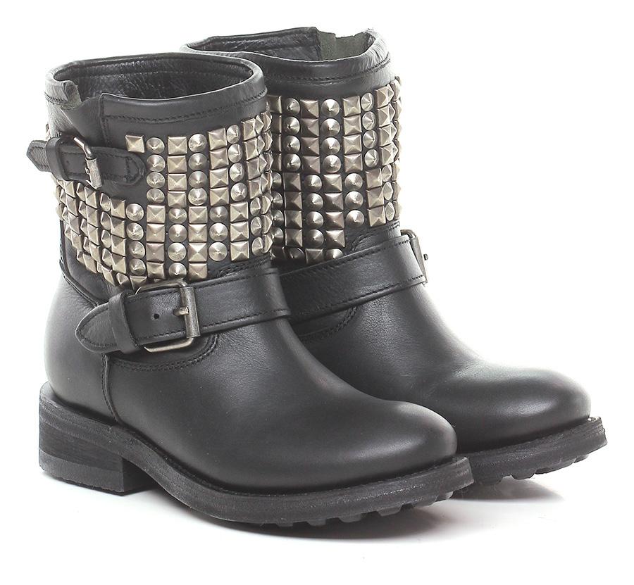 Tronchetto Black/silver ASH Verschleißfeste billige Schuhe