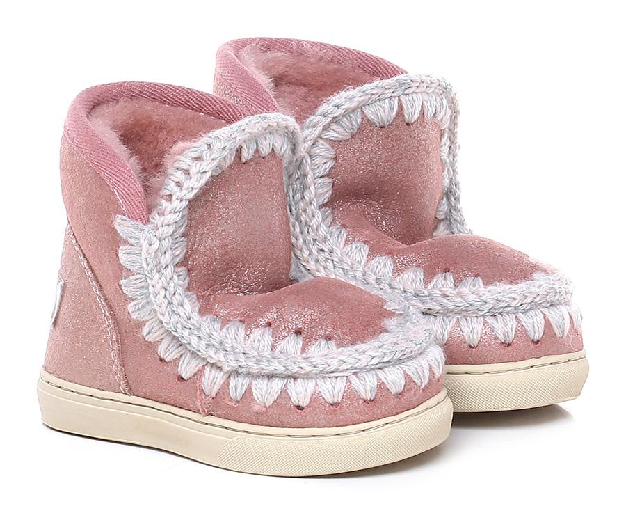 Tronchetto bambina Rose MOU Verschleißfeste billige Schuhe